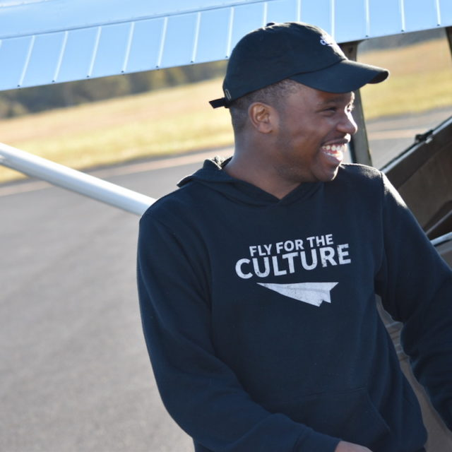 Fly For The Culture founder Courtland Savage