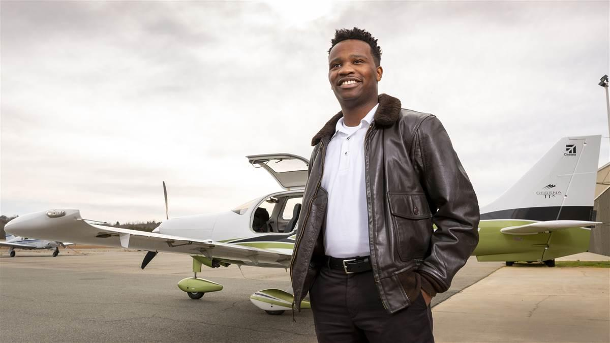 AOPA Five Questions with Courtland Savage
